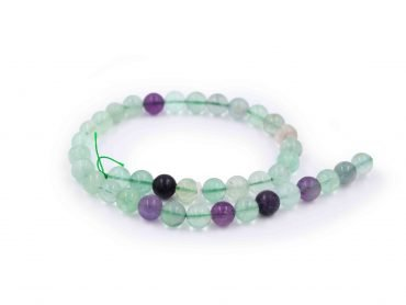 Rainbow Fluorite beads - Crystal Dreams