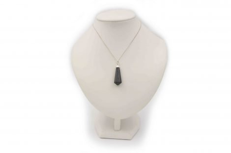 "Hematite ""RG"" point Sterling silver - Crystal Dreams"