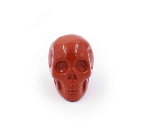Red Jasper Skull-Crystal Dreams