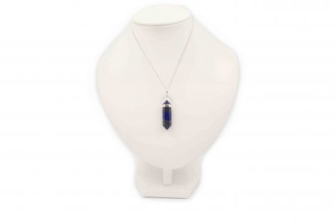 """Lapis Lazuli """"Double Point"""" Pendant Sterling Silver - Crystal Dreams"""