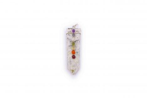Moonstone seven chakra stone 7 - Crystal Dreams