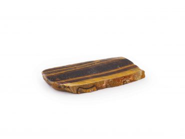 Tiger Eye Rough with One Polished Side- Crystal Dreams