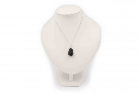"Onyx ""Tumbled"" Sterling Silver Pendant - Crystal Dreams"