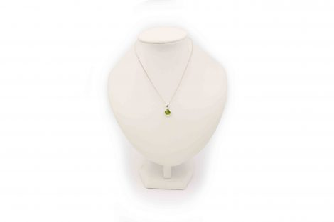 Peridot Sterling Silver Pendant - Crystal Dreams