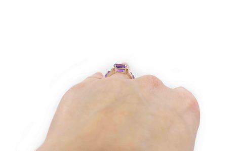 Prestige Amethyst Sterling Silver ring