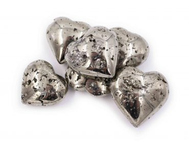 Pyrite Heart- Crystal Dreams