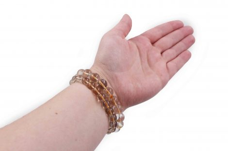 Rutilated Quartz Bracelet - Crystal Dreams