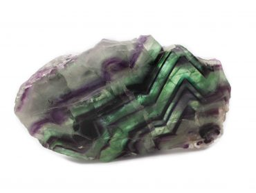 Rainbow Fluorite Slice - Crystal Dreams