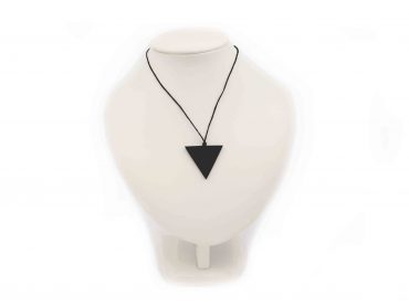 "Shungite ""Female"" Triangle pendant - Crystal Dreams"