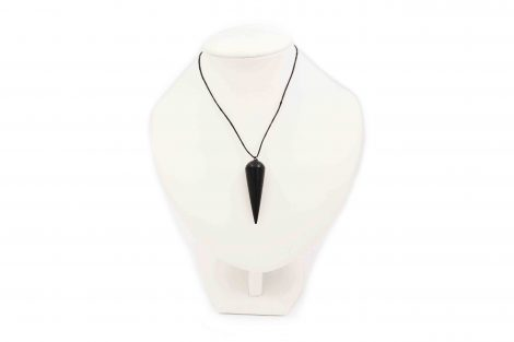 "Shungite ""Pendulum"" Pendant - Crystal Dreams"