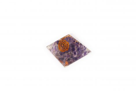 Amethyst Orgonite Pyramid (S) - Crystal Dreams