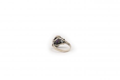 Amethyst Marquise Ring In Sterling Silver - Crystal Dreams