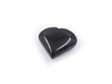 Black Tourmaline Puffy Heart - Crystal Dreams