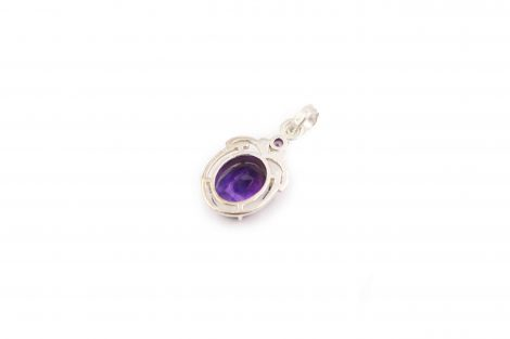 Class Amethyst Sterling Silver Pendant - Crystal Dreams