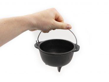 Iron Smudging Cauldron - Crystal Dreams
