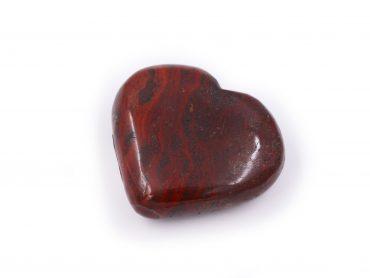 Red Jasper Puffy Heart - Crystal Dreams
