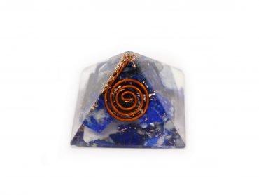 Small Lapis Lazuli Orgonite Pyramid - Crystal Dreams