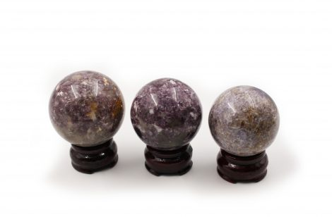 Lepidolite / Purple Mica Spheres