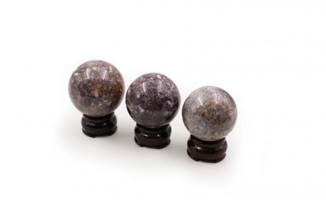 Lepidolite / Purple Mica Sphere