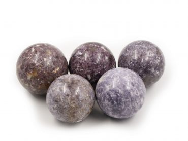Lepidolite / Purple Mica Spheres