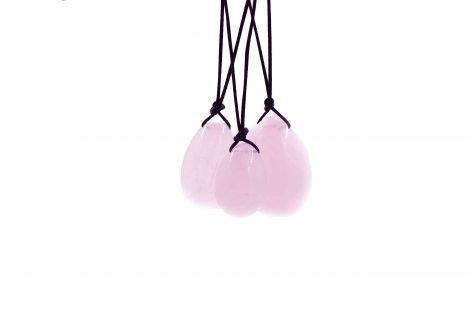 Rose Quartz Yoni Egg Kit - Crystal Dreams