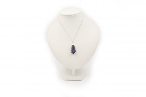 "Sodalite ""RG"" Point Pendant Sterling Silver - Crystal Dreams"