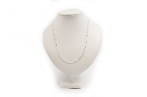 Sterling Silver Chain Figaro 62