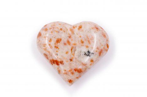 Sunstone Puffy Heart- Crystal Dreams