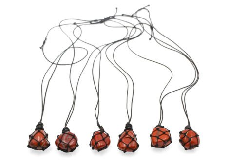 Tumbled Wrapped Necklace - Crystal Dreams