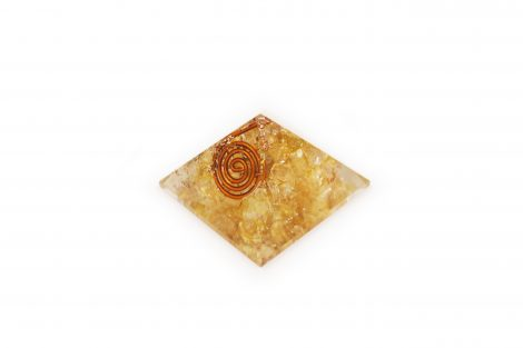 Orgone Pyramid – Citrine (S) - Crystal Dreams