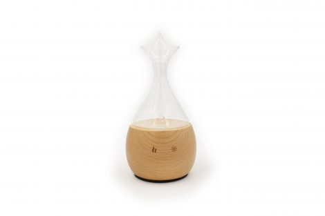 Nebulizer Diffuseur / Diffuser Wood & Glass wide head