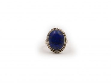 Lapis Lazuli Genuine Sterling Silver Ring - Crystal Dreams