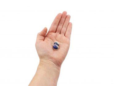 Light Weight Lapis Lazuli Sterling Silver Earrings - Crystal Dreams