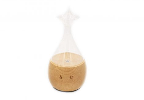 Nebulizer Diffuseur / Diffuser Wood & Glass wide head - Crystal Dreams
