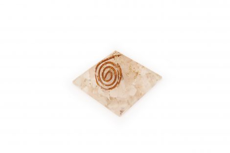 Orgone Pyramid – Rose Quartz (S) - Crystal Dreams
