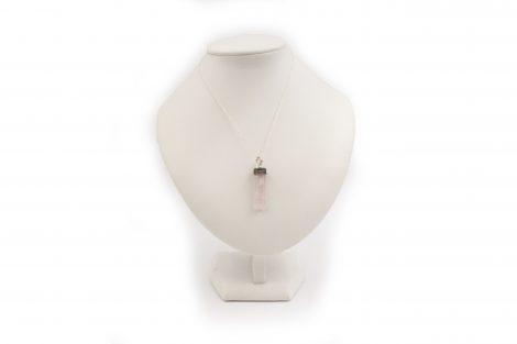 Rose Quartz Filigree point Pendant Sterling Silver - Crystal Dreams