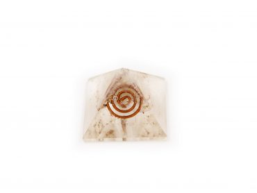 Orgone Pyramid – Selenite (S) - Crystal Dreams