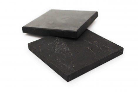 Shungite tile square plate - Crystal Dreams
