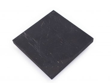 Shungite tile square plate - Crystal Dreams