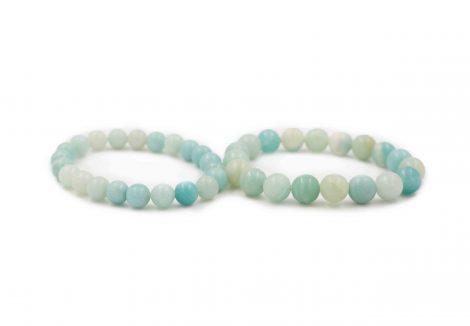 Amazonite Bracelet (8 mm or 10 mm) - Crystal Dreams