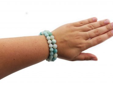 Amazonite Bracelet (8 mm or 10 mm) - Crystal Dreams