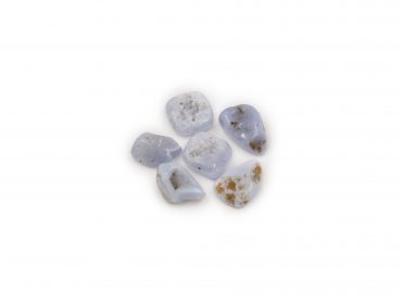Blue lace agate roulee tumbled