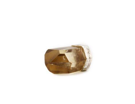 Citrine Natural Sterling Silver Pendant - Crystal Dreams