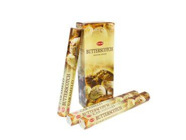Hem Hexa ButterScotch Incense - Crystal Dreams
