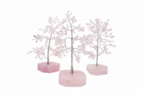 Rose Quartz Tree- Crystal Dreams