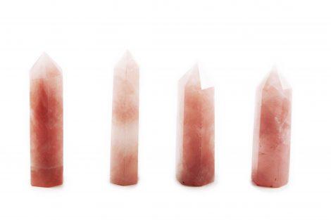 Rose quartz prism (M)-Crystal Dreams