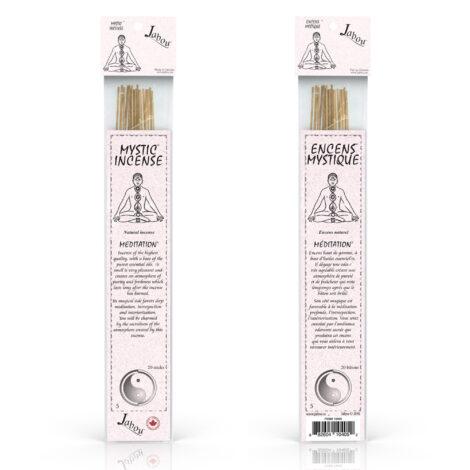 Mystic Jabou Meditation Incense - Crystal Dreams