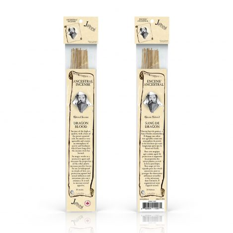 Ancestrial Jabou Dragon Blood Incense - Crystal Dreams