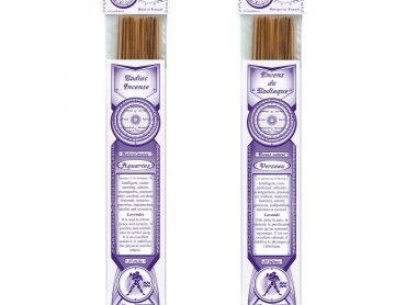 Zodiac Jabou Aquarius Incense - Crystal Dreams