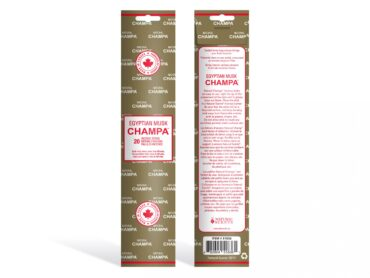 Egyptian Musk Champa Incense - Crystal Dreams